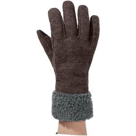 VAUDE Tinshan IV Handschoenen Dames, pecan brown